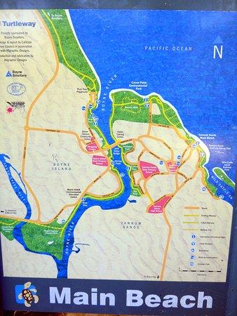 Tannum Sands, Australia: Area map