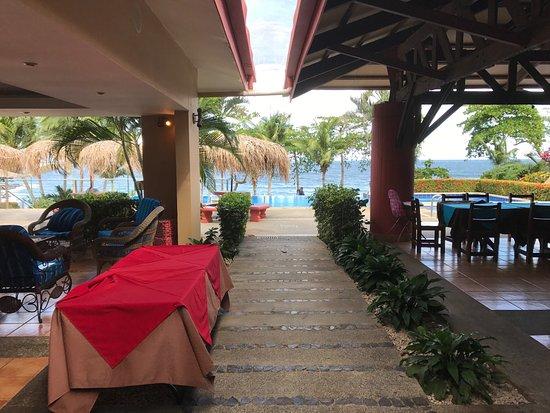 Playa Ocotal, Costa Rica: View from restaurant.