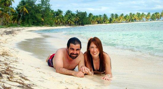Bayahibe, República Dominicana: Tomada en la playa de Isla Saona.