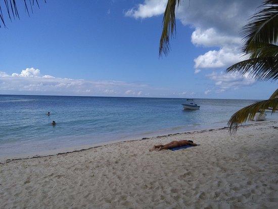 Bayahibe, Den Dominikanske Republik: Vista de la playa en Mano Juan