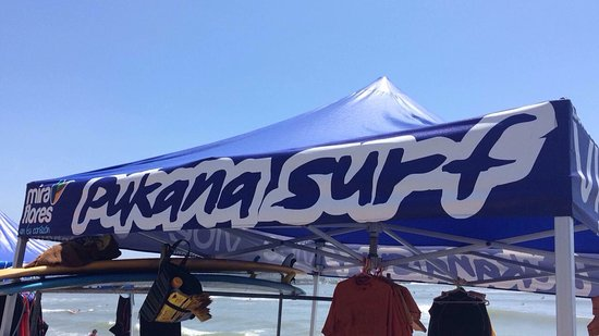 Pukana Surf school