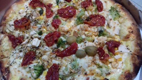 Emporio Choperia: pizza vegetaria, muito boa