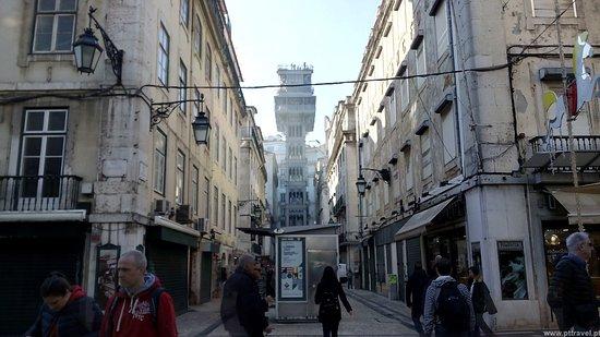 PTTravel.pt Travel Services: Elevador de Santa Justa - Lisboa