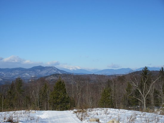Madison, Nueva Hampshire: Sweetrides view of Mt Washington and White Mountains