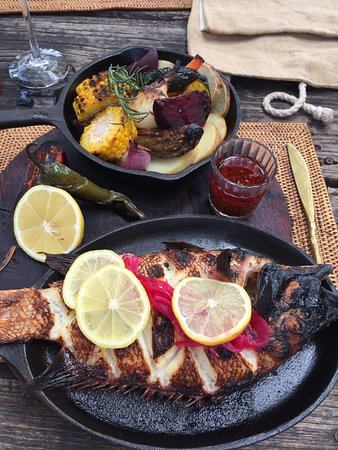Grilled Red Snapper to die for