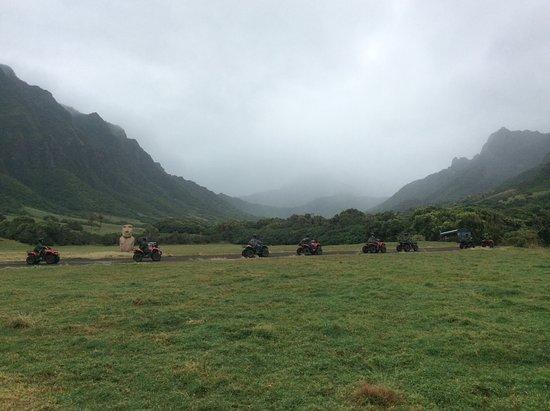 Kaneohe, ฮาวาย: Kualoa Tour