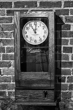 Charles River Museum of Industry and Innovation: Simplex Time Clock