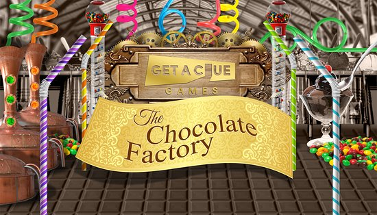 Nottingham, MD: The Chocolate Factory theme room.
