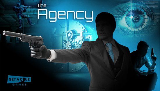 Nottingham, MD: The Agency theme room. Can you complete your mission before time runs out