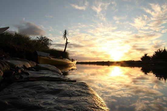Blenheim, Neuseeland: Early morning kayak