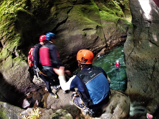 Calibishie, Dominica: Canyoning Adventure Tour