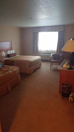 BEST WESTERN PLUS Placerville Inn: Double bed room