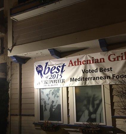 Suisun City, Califórnia: Athenian Grill