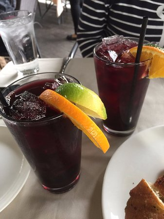 The Restaurant at Ponte: Not-so-sweet but sweet enough Sangria!