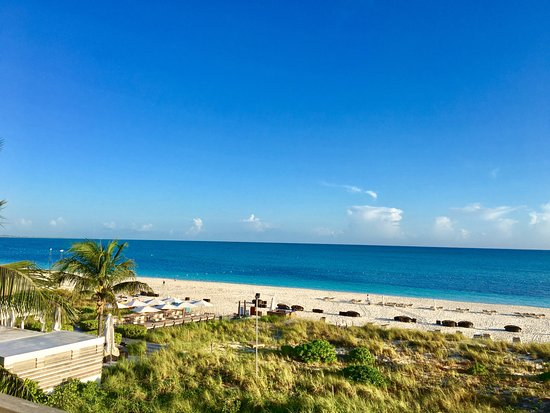 Gansevoort Turks + Caicos: View from one bedroom ocean front room