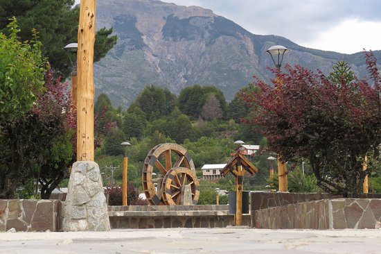 Futaleufu, Chile: plaza de armas