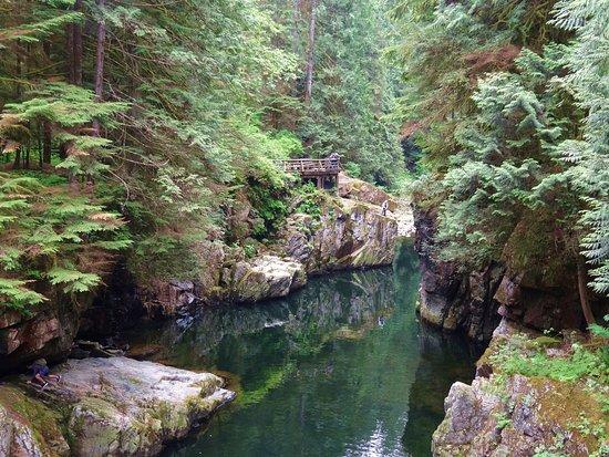 North Vancouver, Kanada: Emerald water