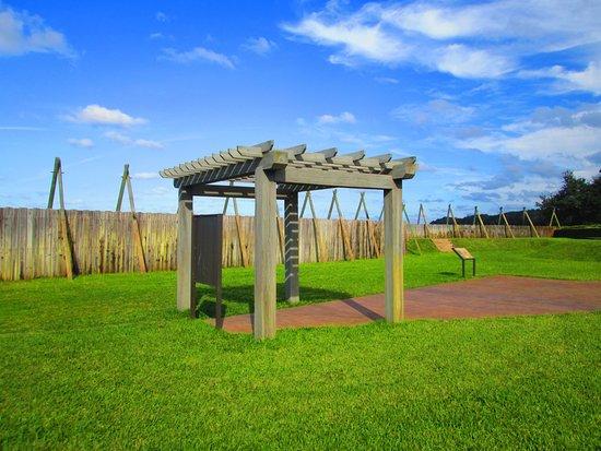 Fort Caroline National Memorial: Inside the replica fort at Ft. Caroline N.M., Jacksonville