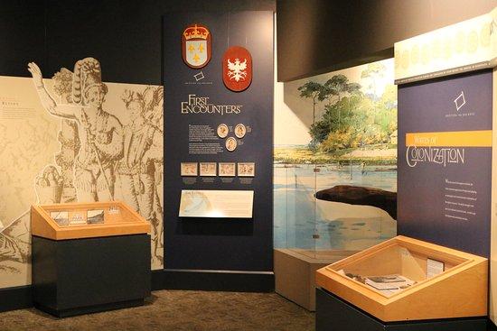 Fort Caroline National Memorial: Inside the visitor center at Ft. Caroline N.M., Jacksonville