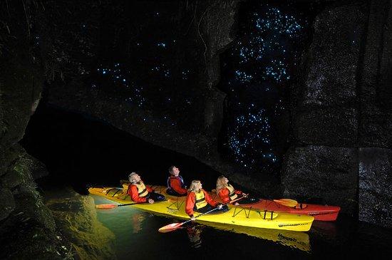 Waitomo Glowworm Caves in New Zealand