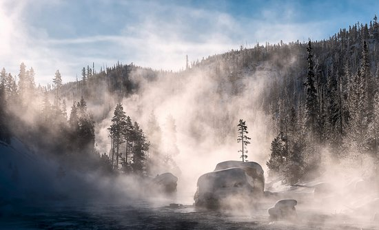 Christmas Tree Rock - Yellowstone NP - Picture of Buffalo Bus Day ...