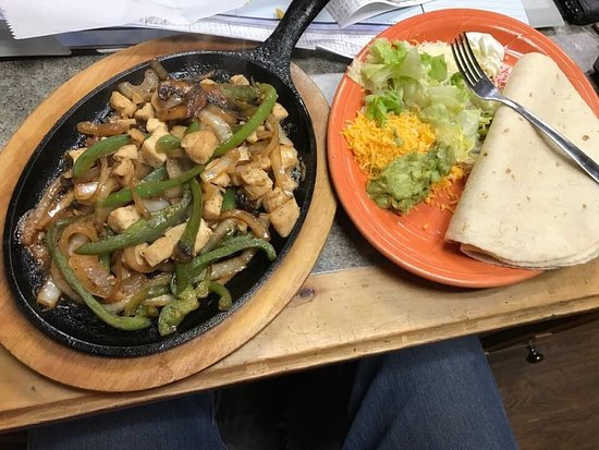 Rexburg, ID : Fajitas were awesome today