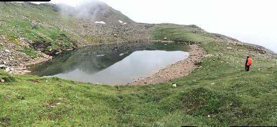 Bhrigu Lake in July