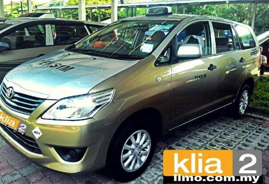 Sepang, Malaisie : KLIA & KLIA2 Taxi Services