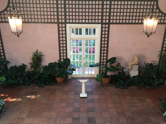 Glens Falls, NY: Inside of the Atrium or Winter Garden