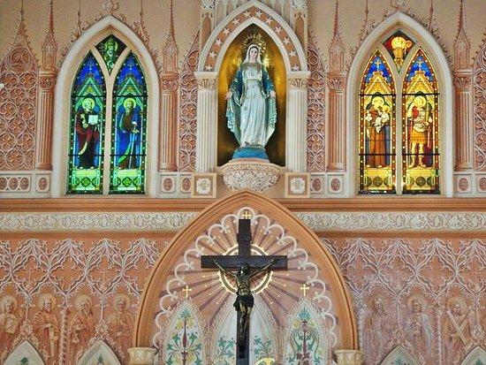 Chanthaburi, Thailand: The old Mary the Virgin