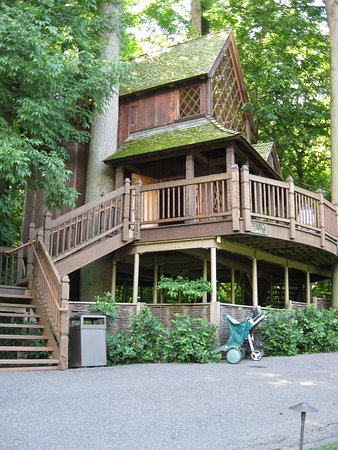 Kennett Square, Pensilvania: Canopy Cathedral Treehouse
