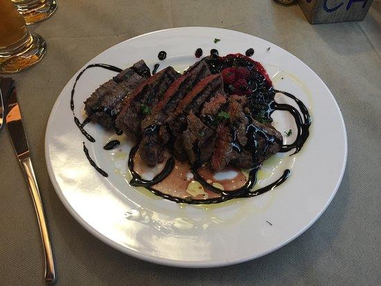 Фанано, Италия: Ecco come si presenta il piatto