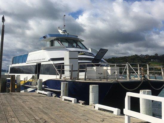 Warkworth, Nueva Zelanda: Kawau Cruises