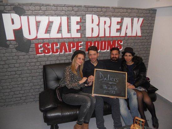 Puzzle Break Escape Room: 16/1/17
