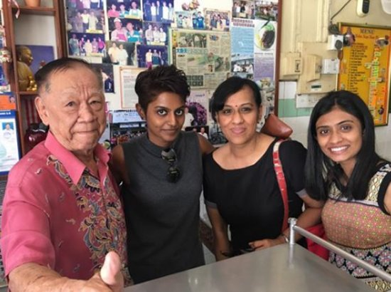 Bentong, Malaysia: The BOSS and my family