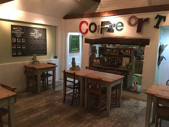 Daventry, UK: Our Cafe seats 14