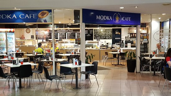 Basket Range, Australia: Cafe entrance from Station ARcade