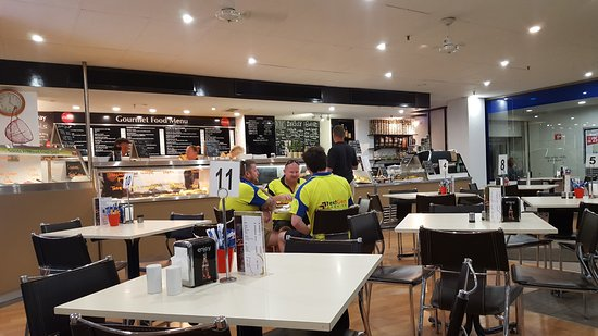 Basket Range, Australia: From inside looking at the service area