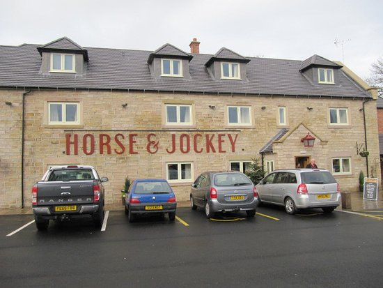 Alfreton, UK: Exterior of Horse & Jockey