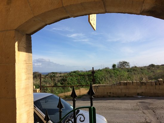 Xaghra, Malta: view from entrance