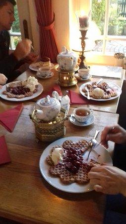 Spiekeroog, Almanya: Teetime im Teetied