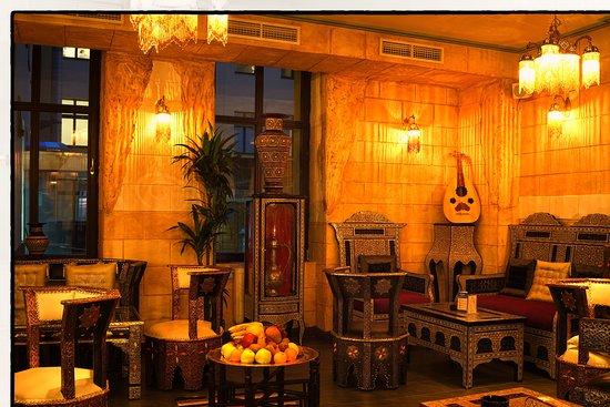 Shisha picture of restaurant arabesque berlin tripadvisor for Arabesque lebanon cuisine
