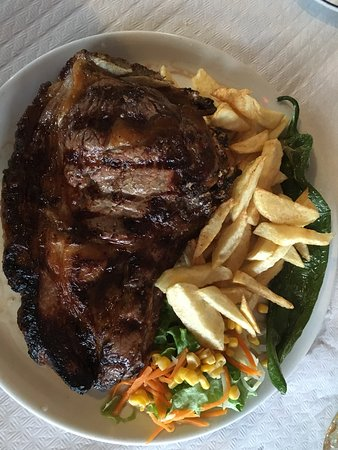 Alajero, Spanien: Big Steak!
