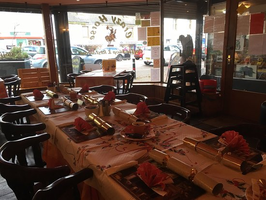 Invergordon, UK: Christmas Lunch @ Crazyhorse