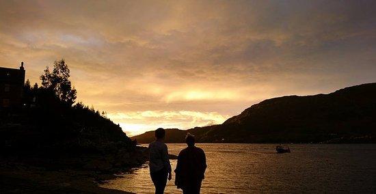 Stromeferry, UK: Amazing west coast sunsets