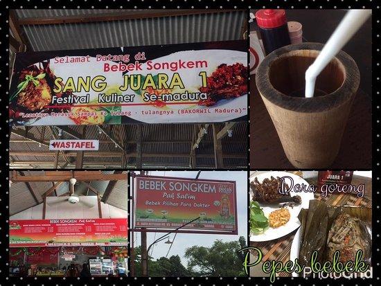 Madura Island, Endonezya: Juara 1 di festival kuliner lhooo