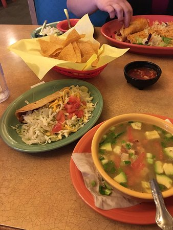 Phoenix, OR: Hot flavorful Tortilla Soup -