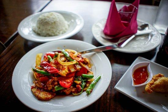 Penrith, Austrália: Chilli Basil Chicken
