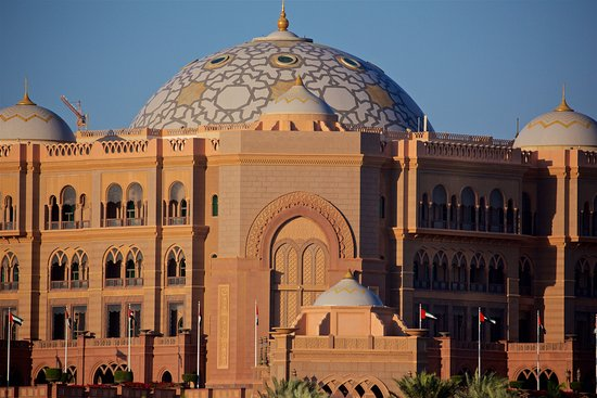 VIP Entrance to Emirates Palace Hotel - Picture of Emirates Palace ...