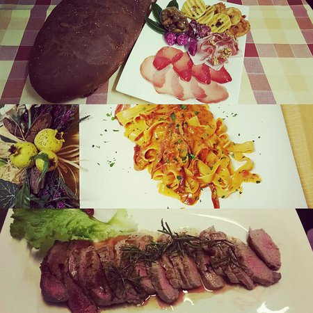 Montjovet, อิตาลี: i nostri gustosi piatti